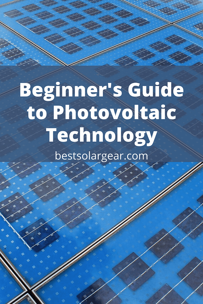 Beginner's Guide to Photovoltaic Technology